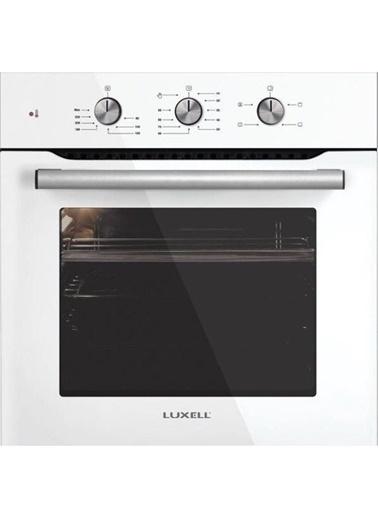 Luxell Fırın+Ocak Lüxell Kristal İkili Ankastre Set Renkli